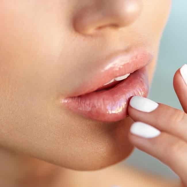 lip peeling dm