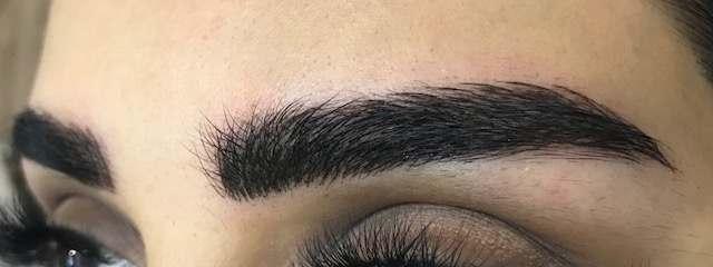 Hybrid brows by Olga Lelekova at 7 Derma