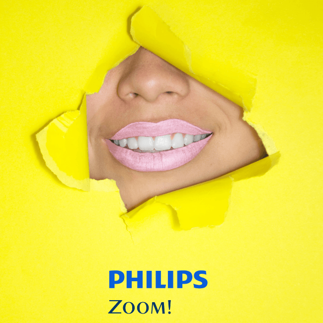 Teeth Whitening With Philips Zoom