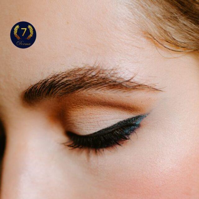 eyebrow lamination by 7 Derma